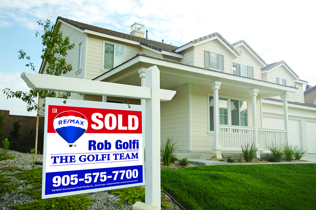 Sold sign | The Golfi Team