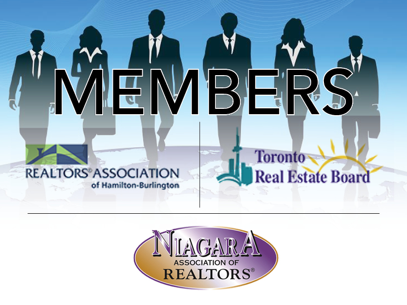 Members of 3 Real Estate Boards