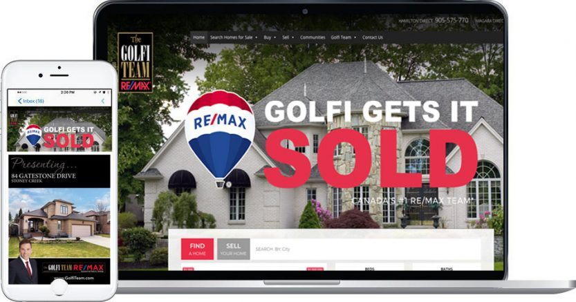 Personalized Website for buying and selling your home - from the best realtors in Hamilton, Halton and Niagara region