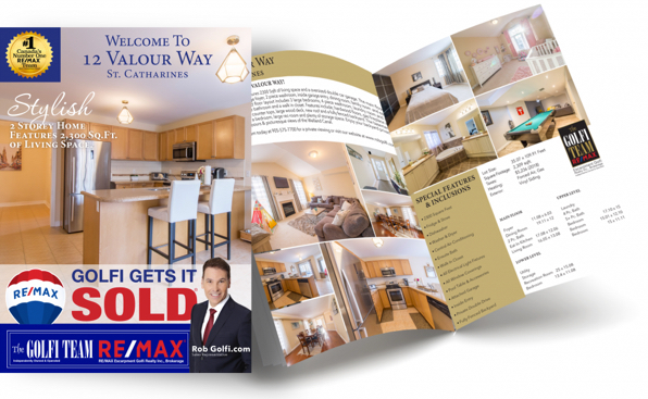 Professional Feature Sheets for your home | Why Choose The Golfi Team Remax