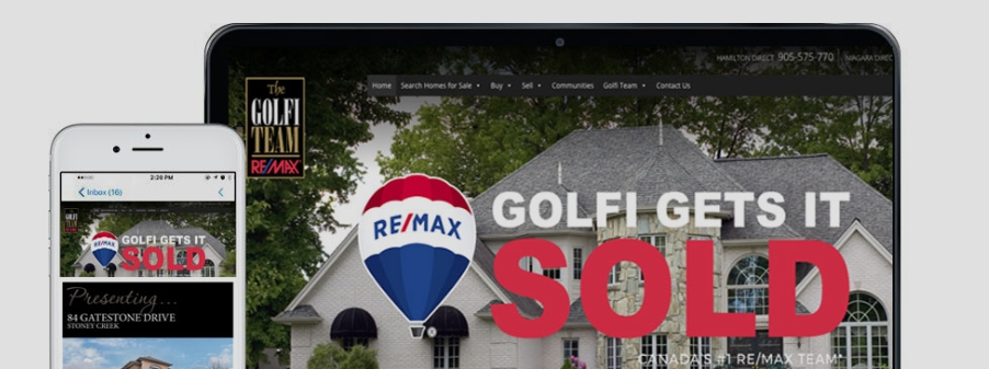 Golfi Gets it Sold | Selling Homes in Hamilton, Halton and Niagara
