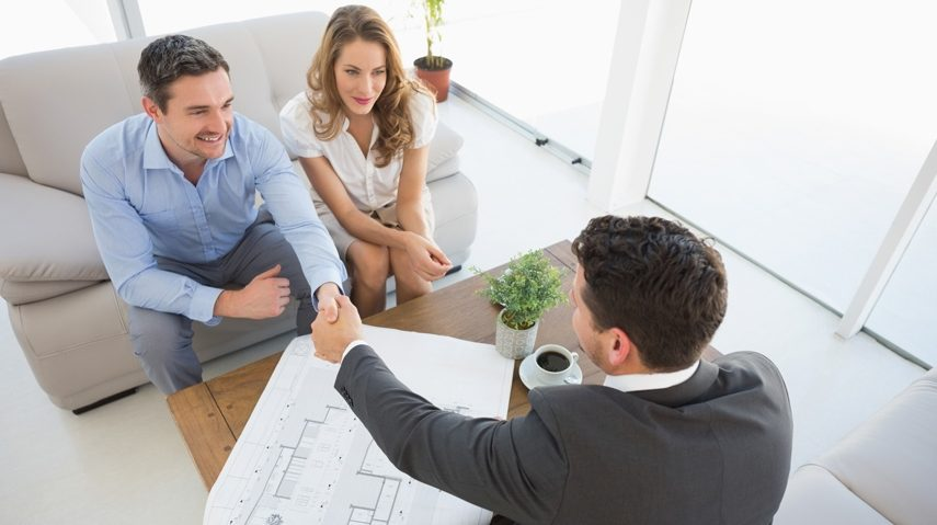 First Time Home buyers buying a home
