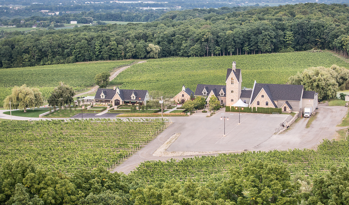 Vineland Winery Estate in Vineland Ontario