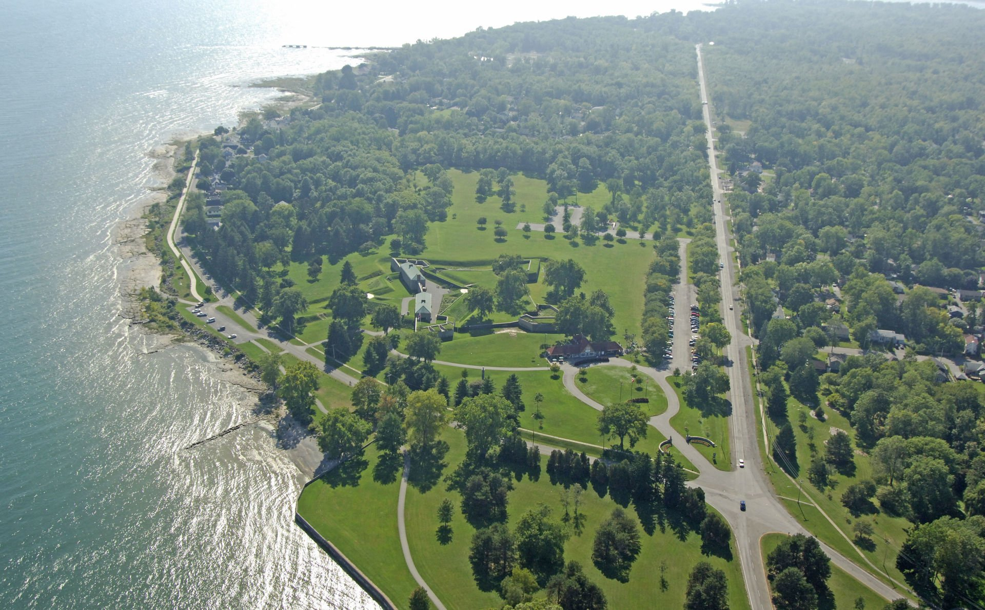 Fort Erie Ontario, view from above