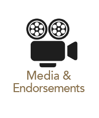 Media and Endorsements