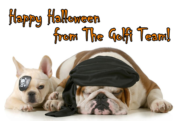 Happy Halloween from The Golfi Team