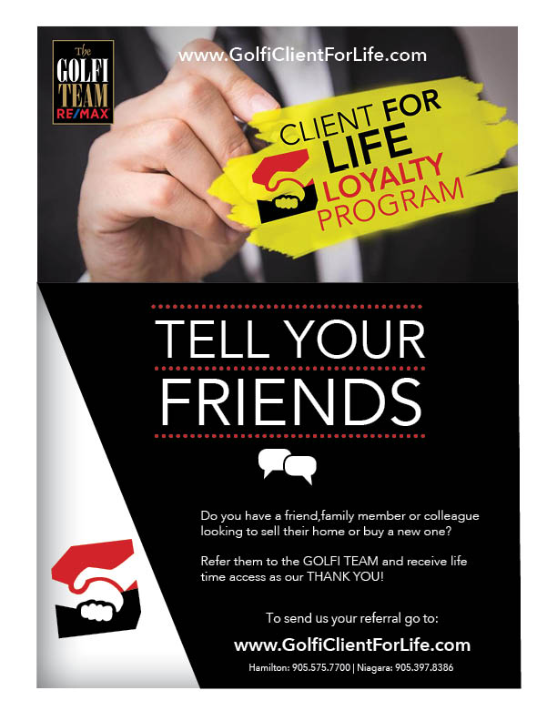 Golfi Client for Life Flyer
