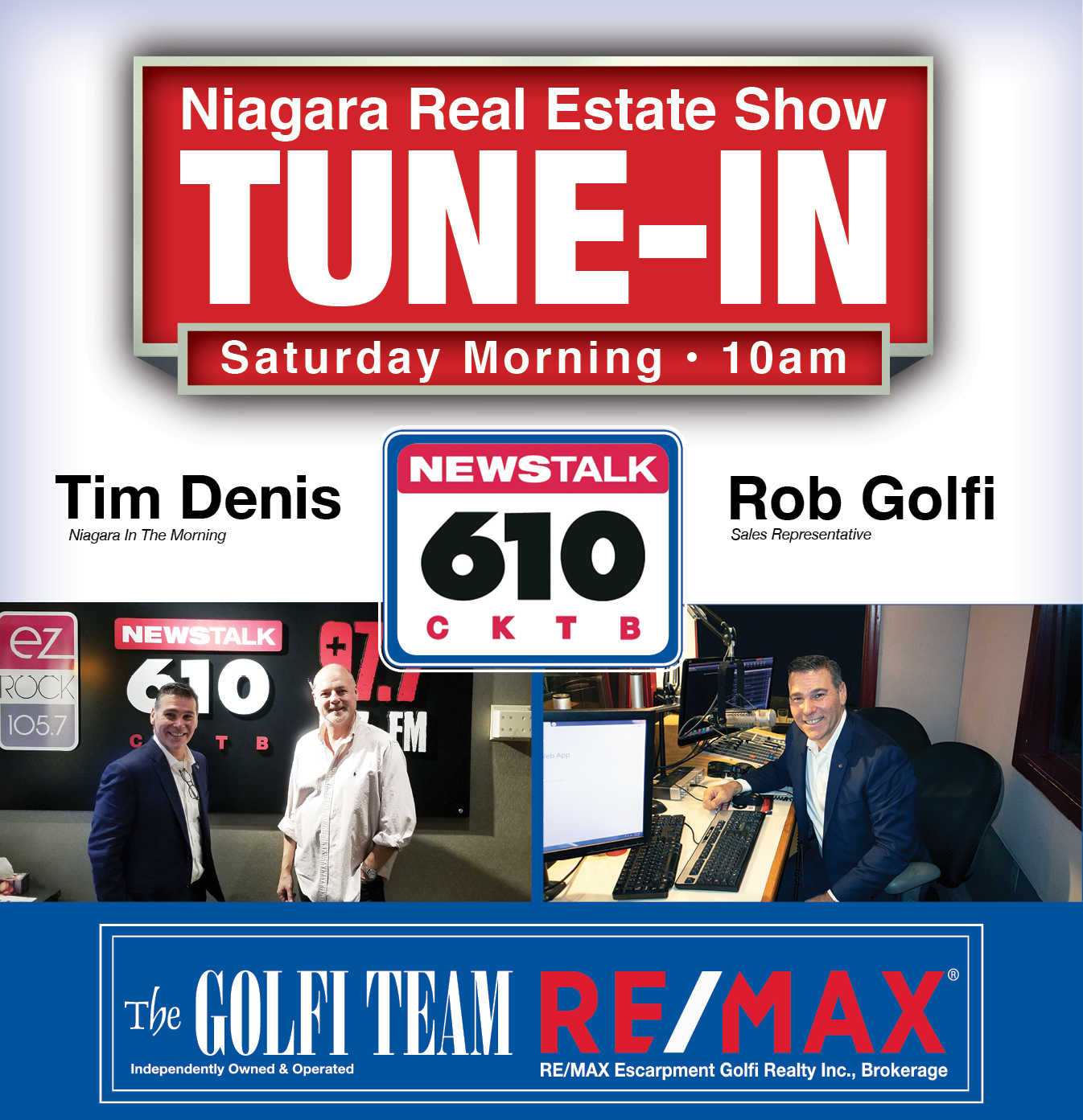 NewsTalk 610 CKTB - The best real estate agents in Hamilton, Halton and Niagara Region