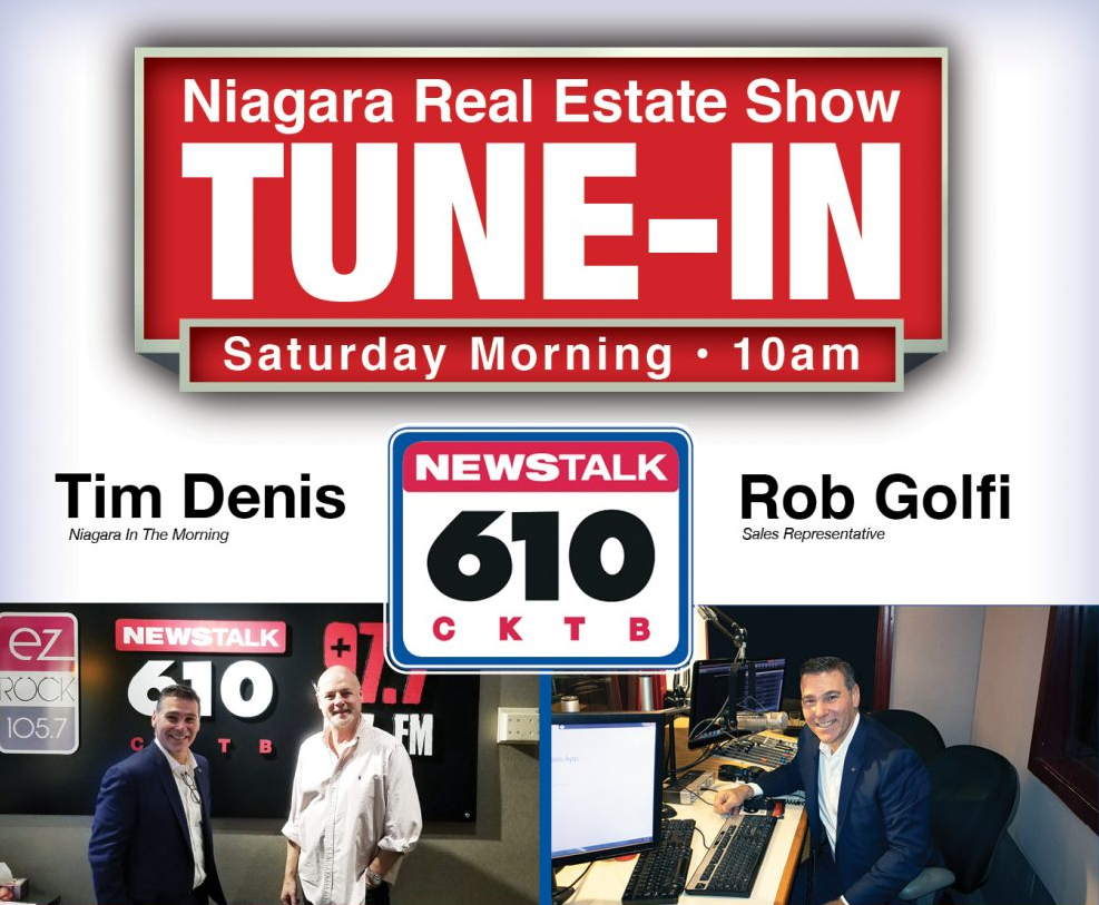 Niagara Real Estate Show with Rob Golfi & Tim Denis, Rob Golfi